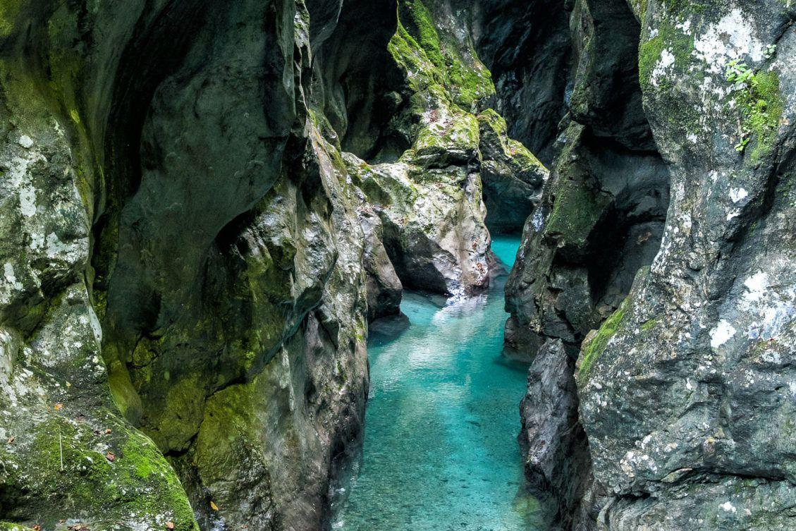 Tolmin Gorge Slovenia
