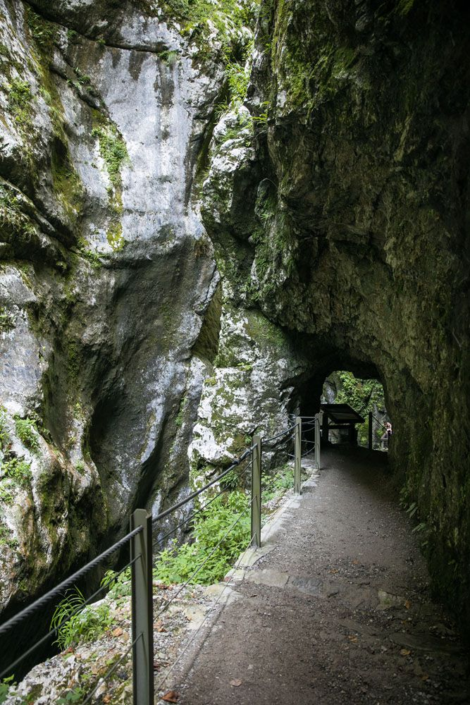 Tolmin Gorge Tunnels
