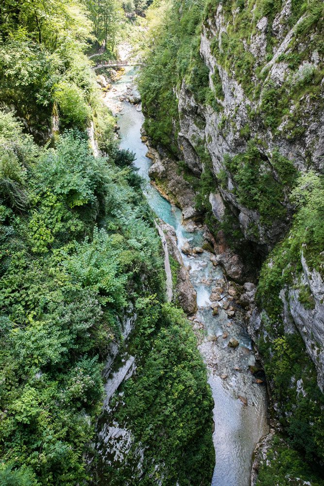Tolmin Gorge View