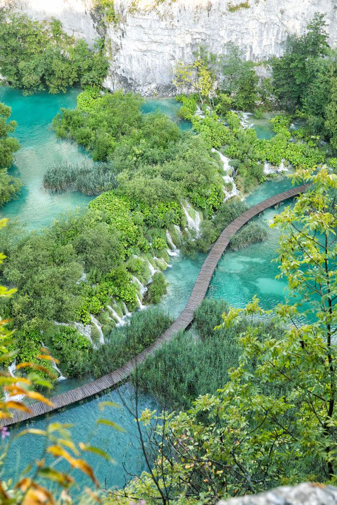 View over Plitvice