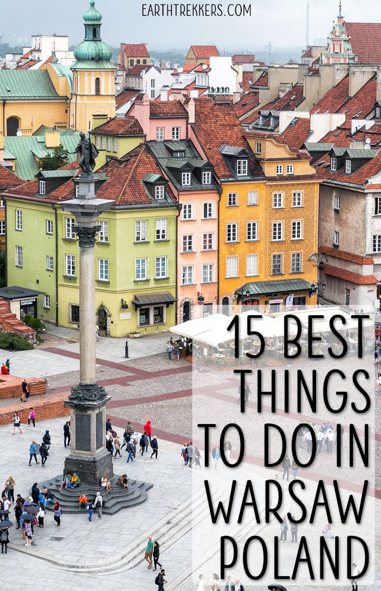 Best Things to do Warsaw Poland