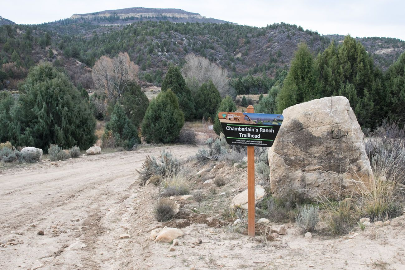 Chamberlains Ranch Trailhead