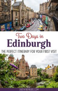 Edinburgh Scotland Travel Itinerary