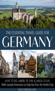 Germany Travel Guide and Itinerary