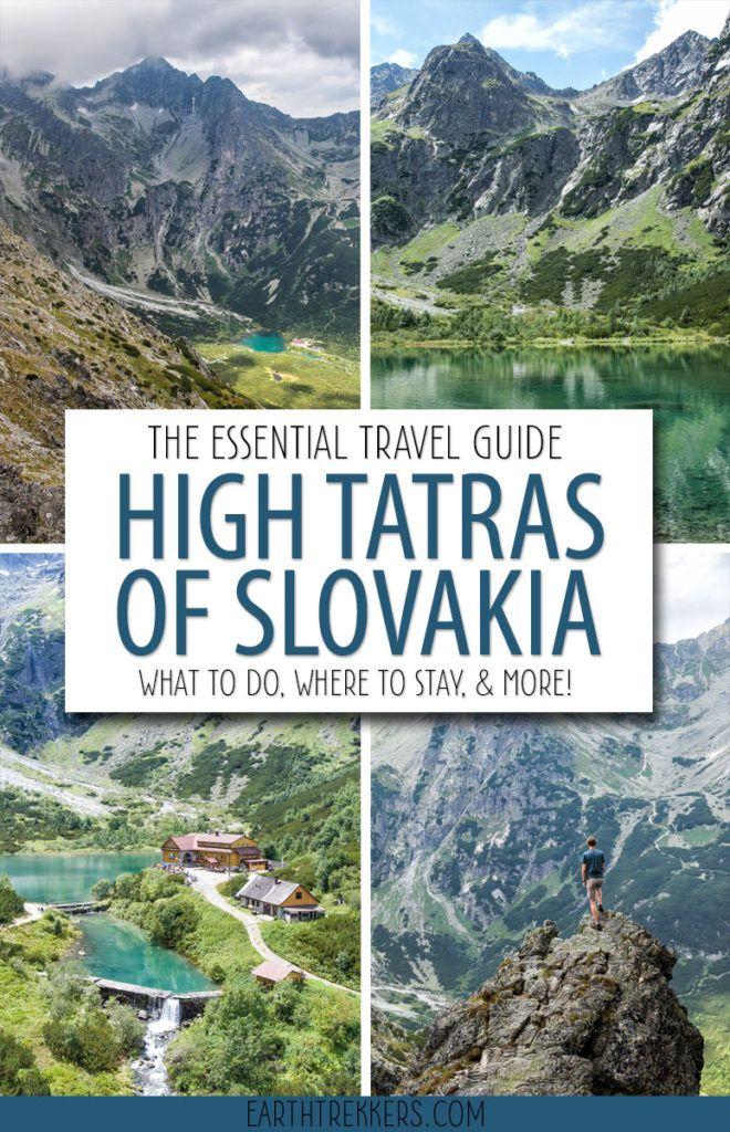 High Tatras of Slovakia Travel Guide