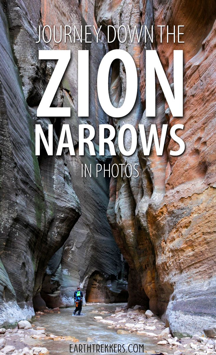 Hike Zion Narrows in Photos