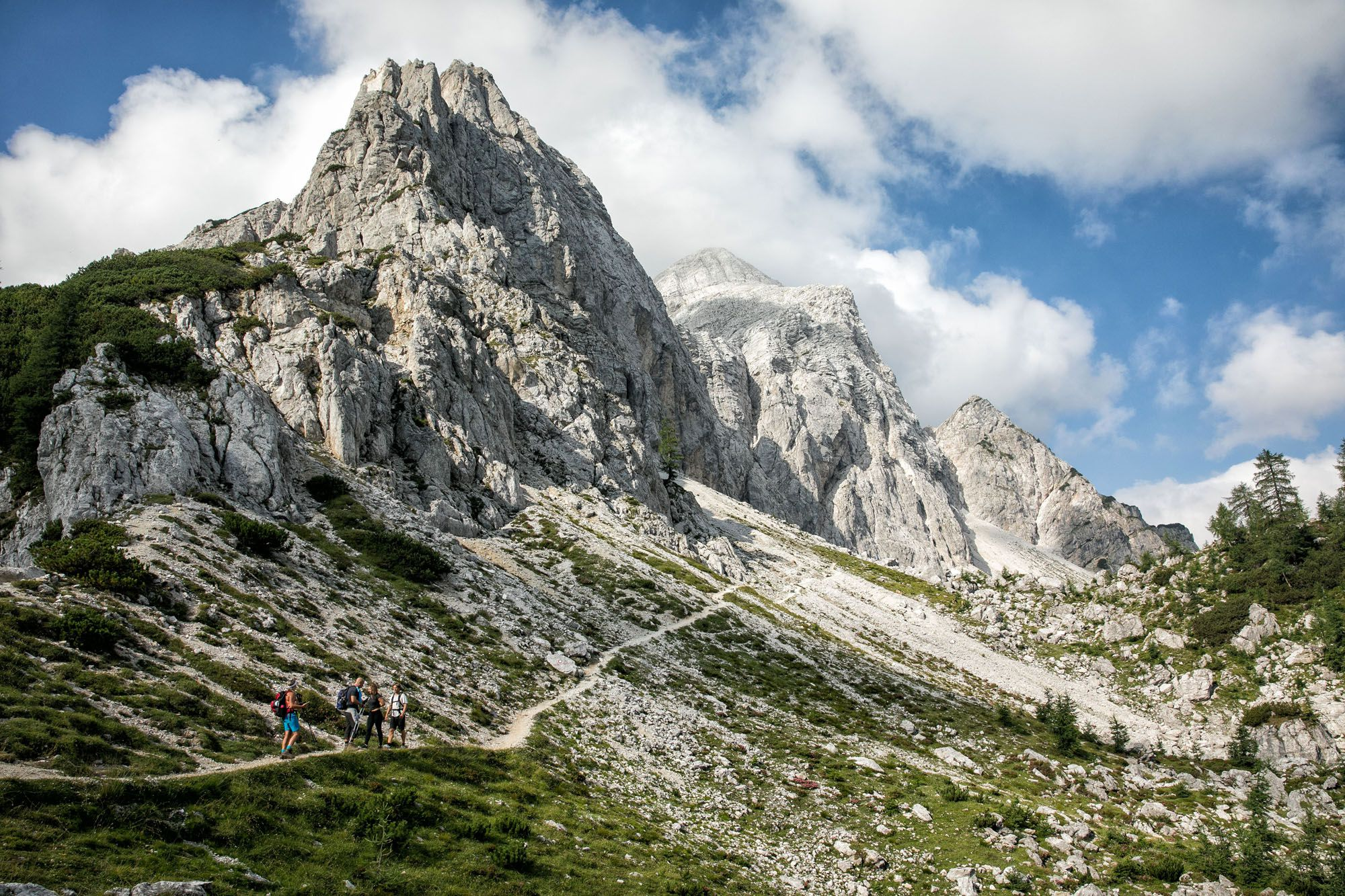 Hiking Julian Alps Slovenia