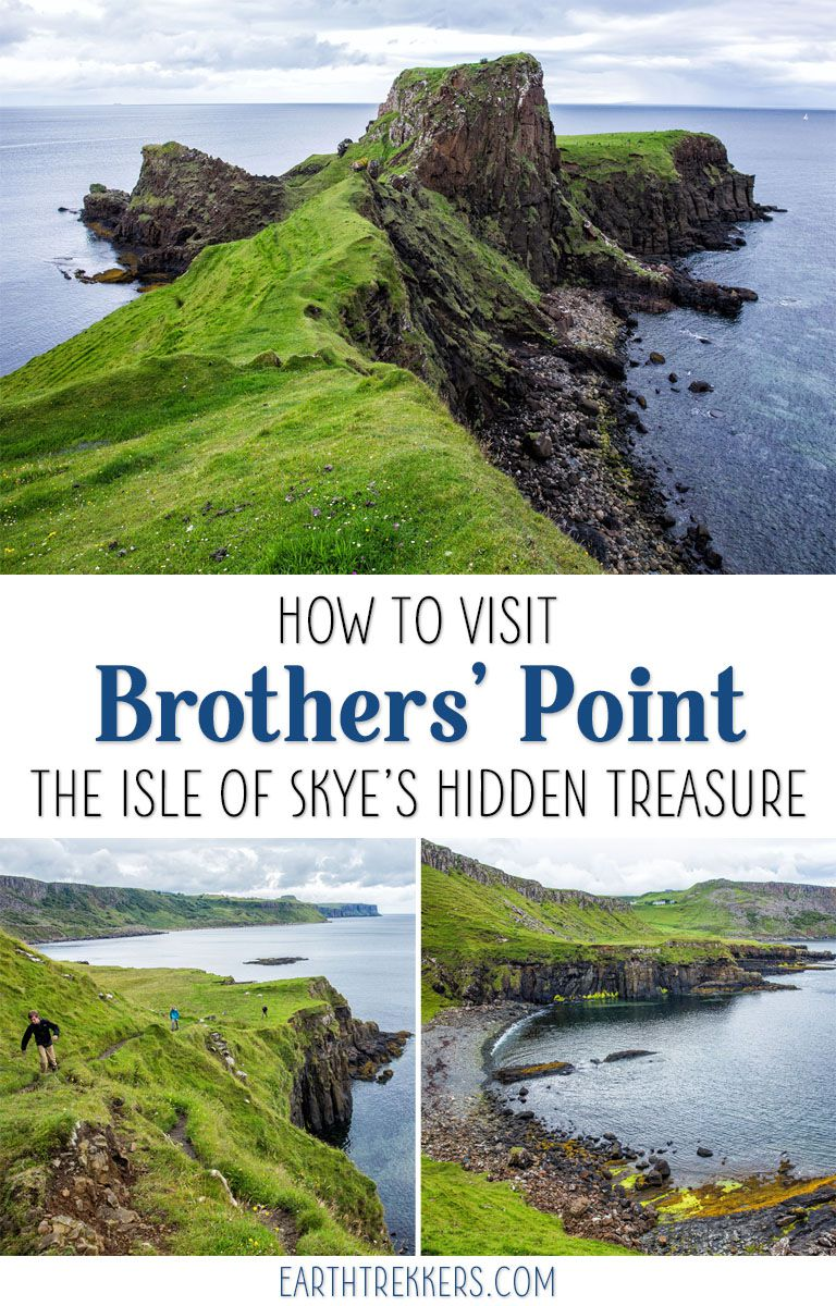 One of the best places to see on the Isle of Skye is Rubha nam Brathairean (Brother's Point). Get inspired: drone video and amazing photos! #isleofskye #scotland #drone #brotherspoint