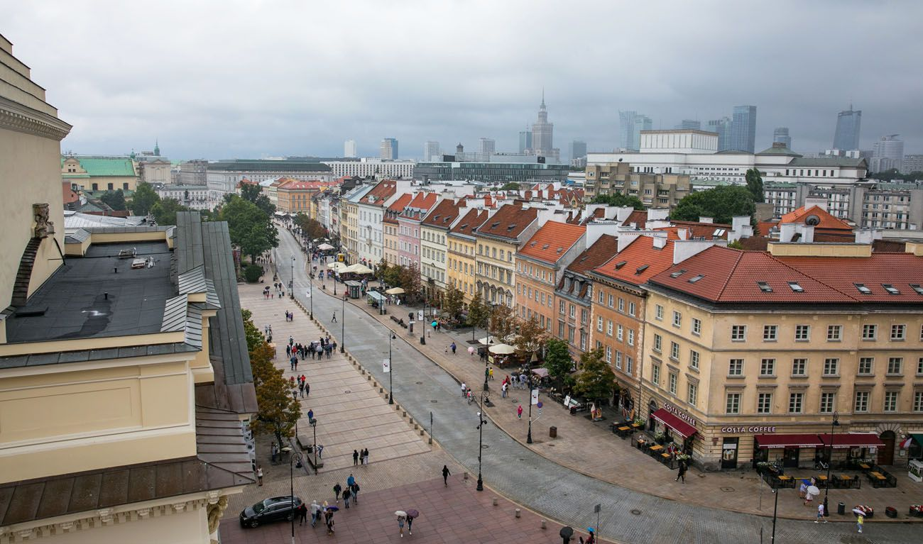 Overlooking Warsaw