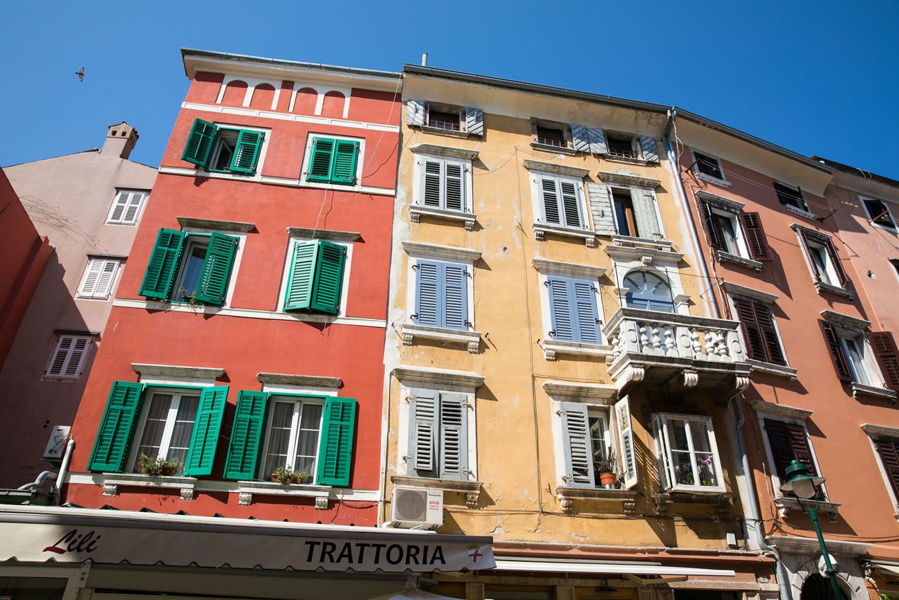 Rovinj Buildings
