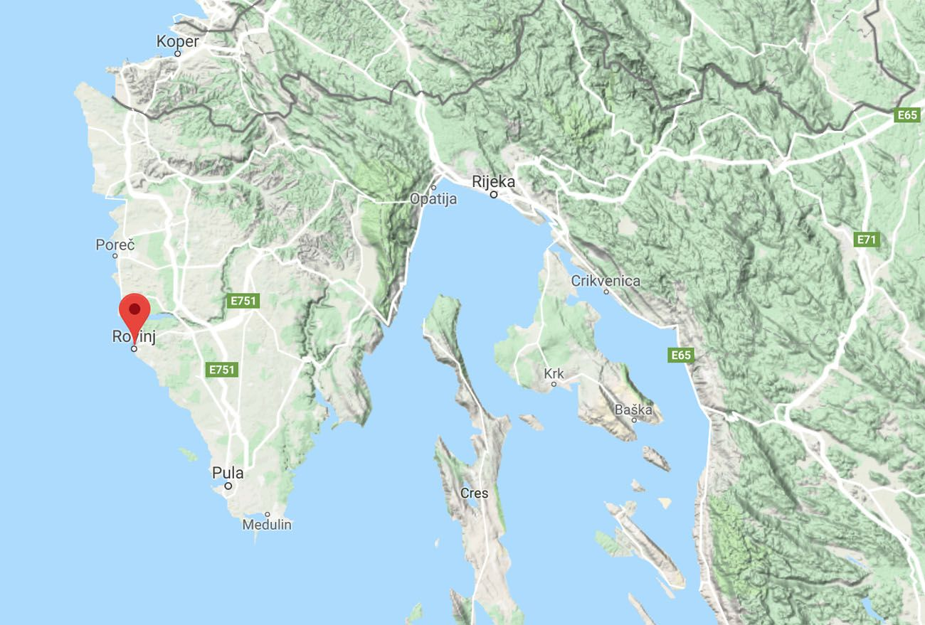 Rovinj Map