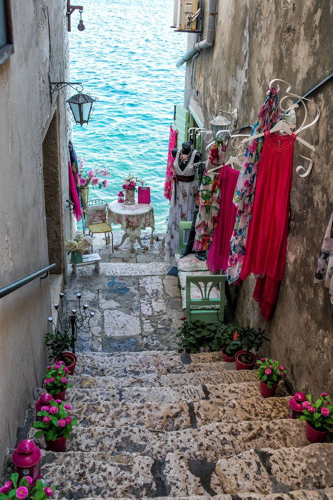 Shopping in Rovinj