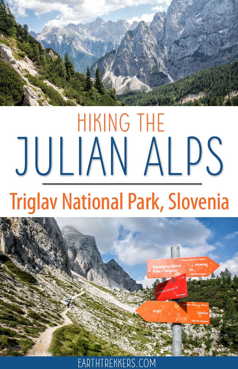 The hike to Sleme and Slemenova Spica is a great hike in Triglav National Park, Julian Alps, Slovenia. #slovenia #triglav #julianalps #hiking