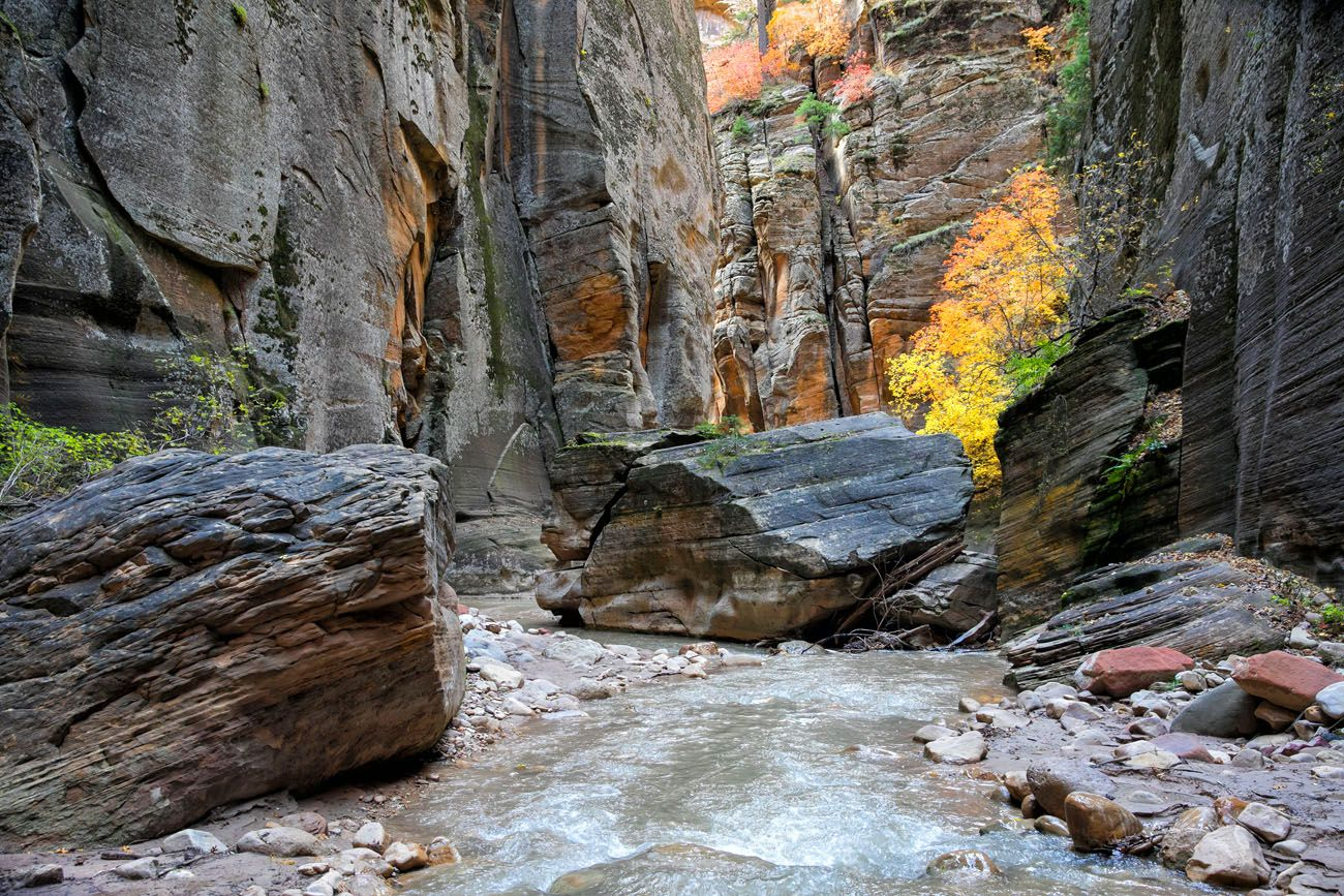 The Narrows in October