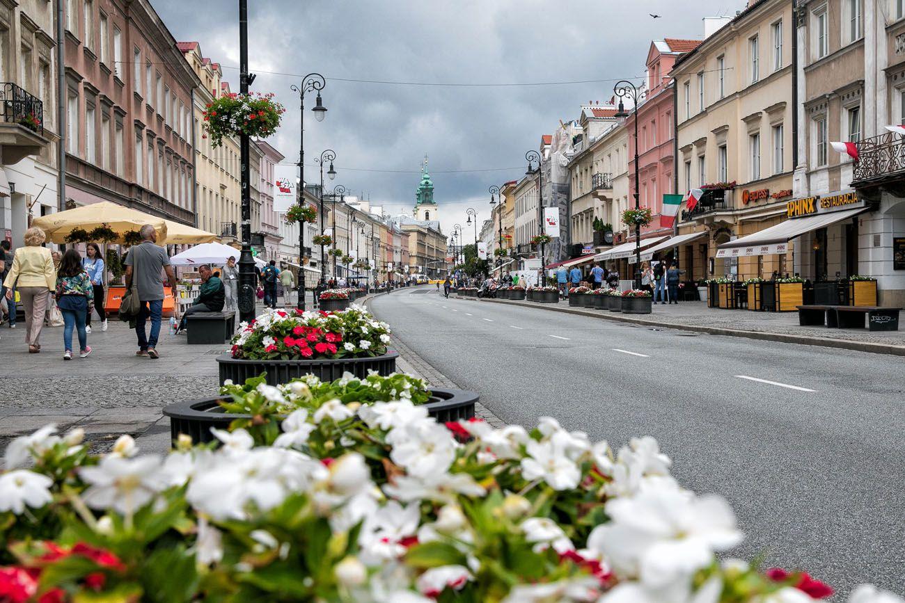 Warsaw Nowy Swiat