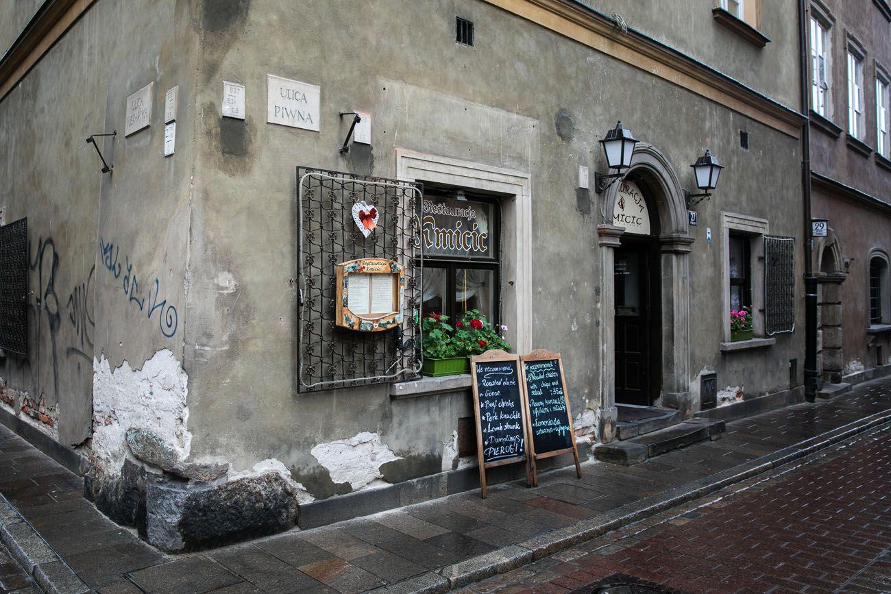 Warsaw Street Corner
