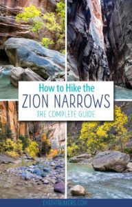 Zion Narrows Best Zion Hike