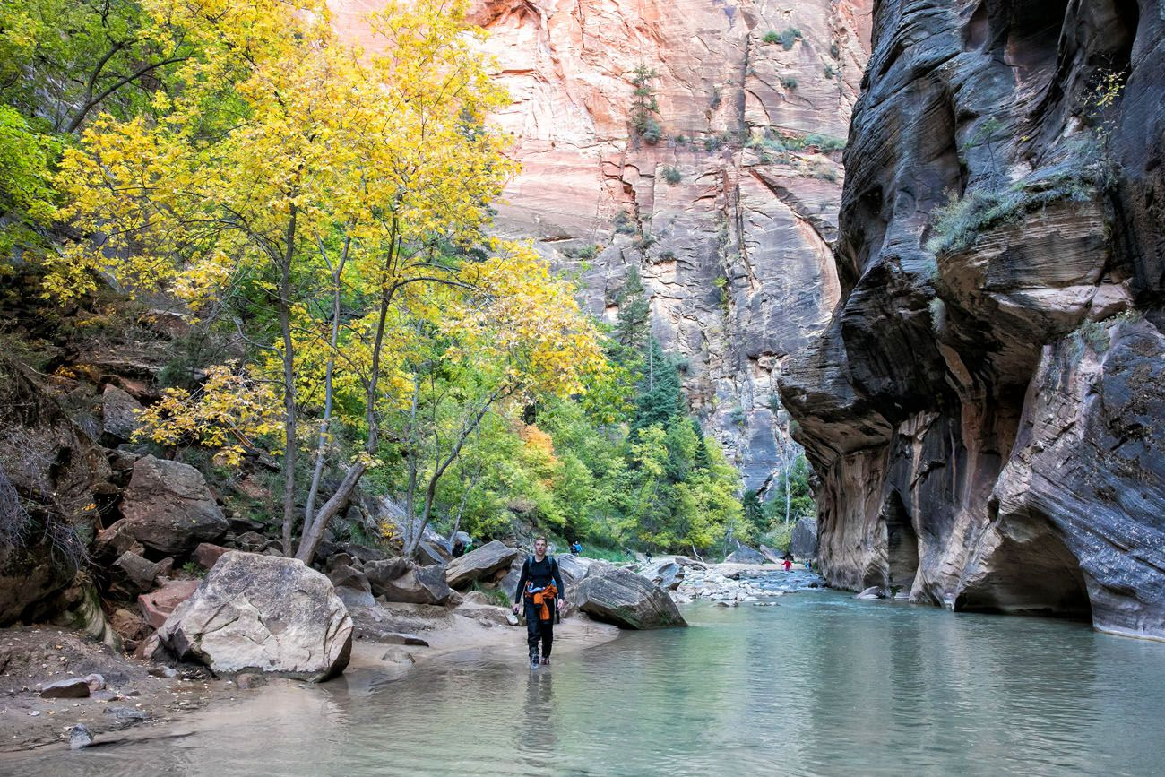 Zion Narrows October