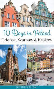 10 Days in Poland Gdansk Krakow Warsaw