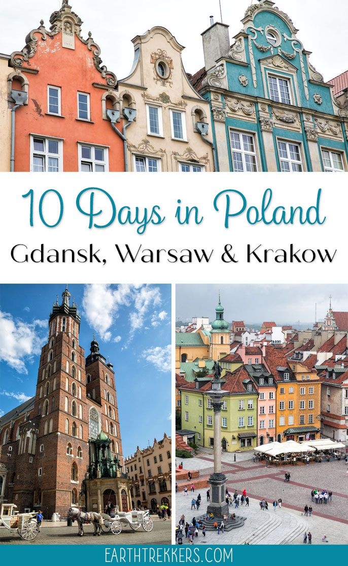 10 Days in Poland Gdansk Krakow Warsaw