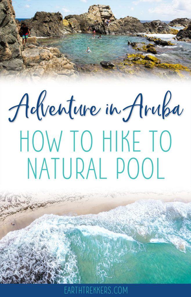 Aruba Hike Natural Pool