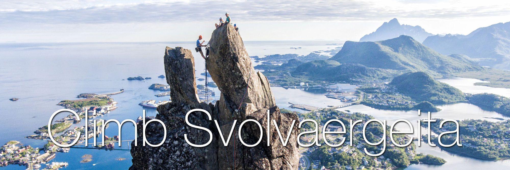 Climb Svolvaergeita