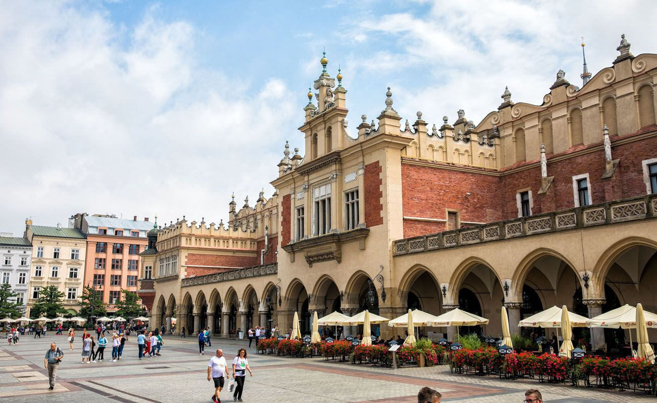 Cloth Hall 10 day Poland itinerary