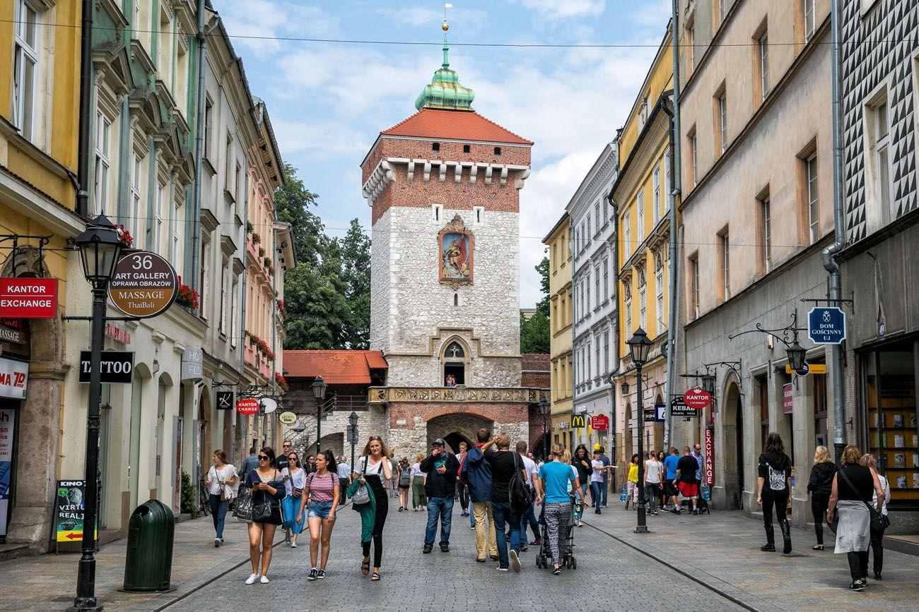 Florians Gate Krakow