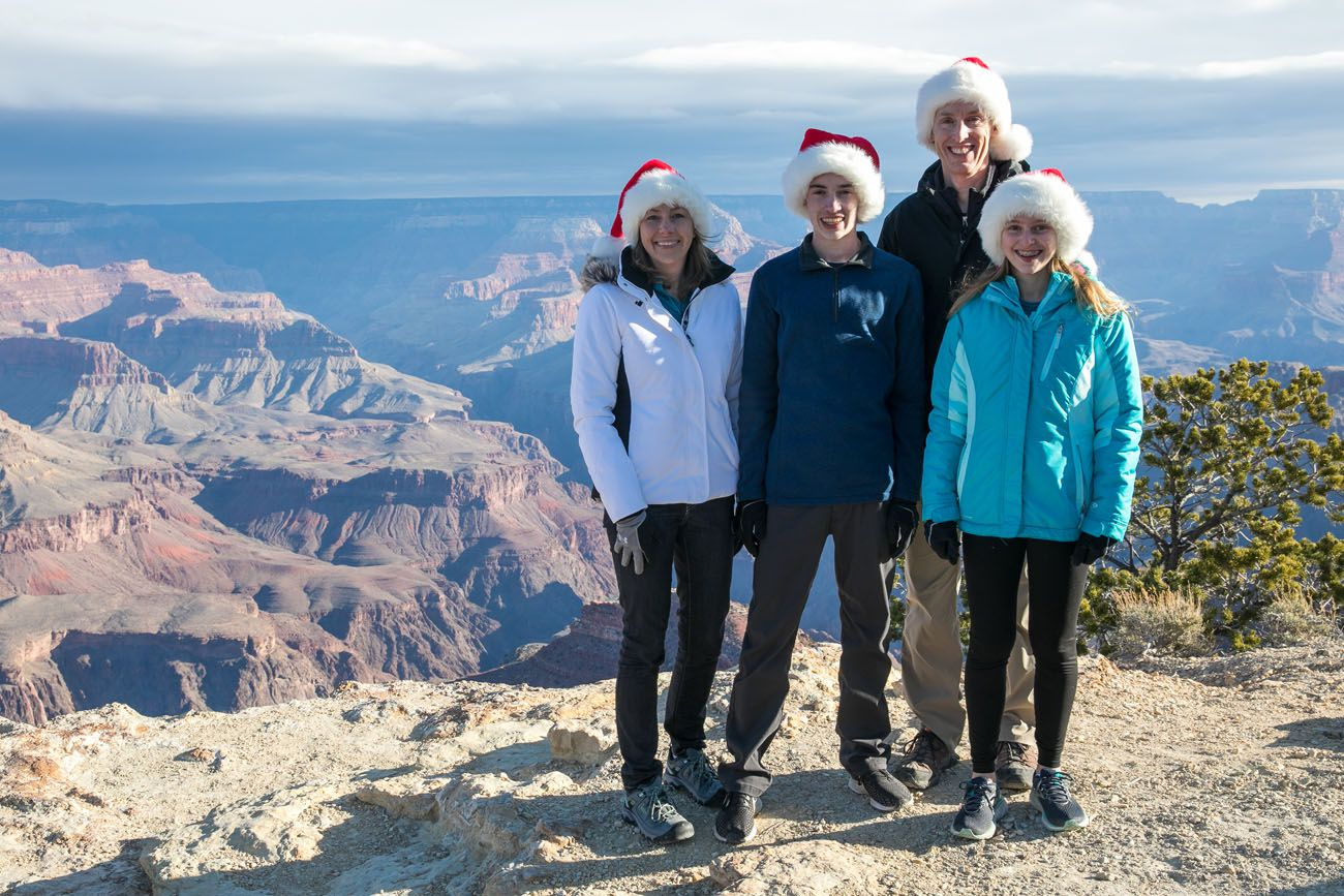 Grand Canyon on Christmas