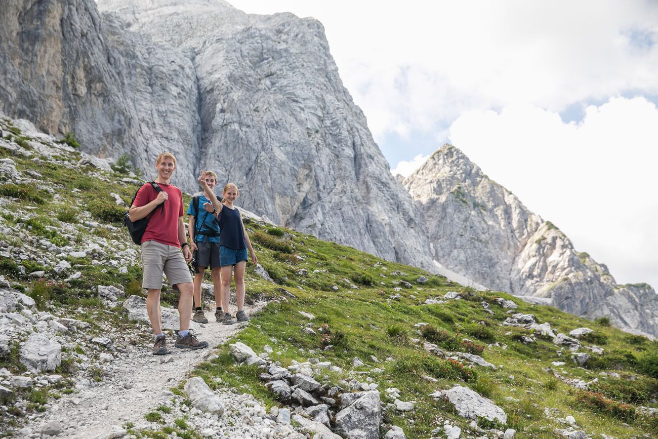 Hiking Julian Alps