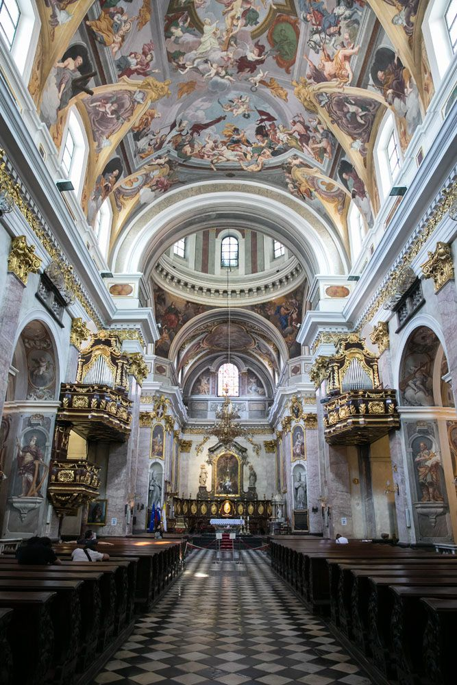 Inside St Nicholas Cathedral