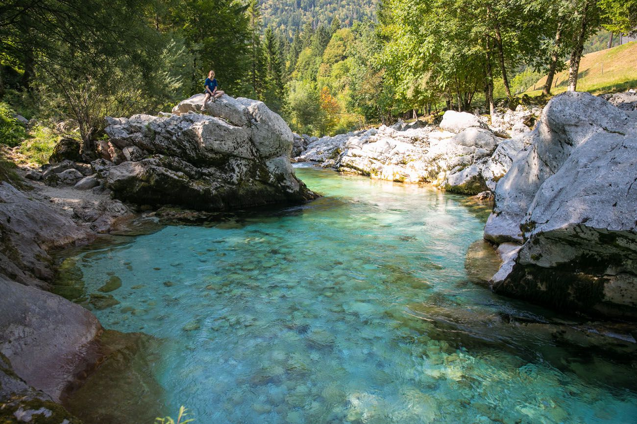 Kara and the Soca River
