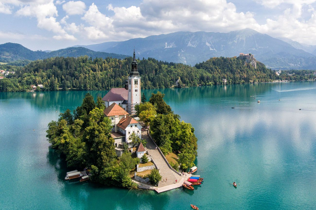 Lake Bled Drone