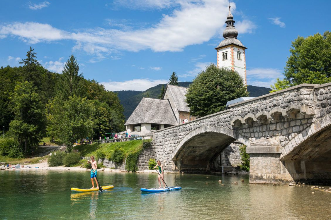Lake Bohinj with Kids