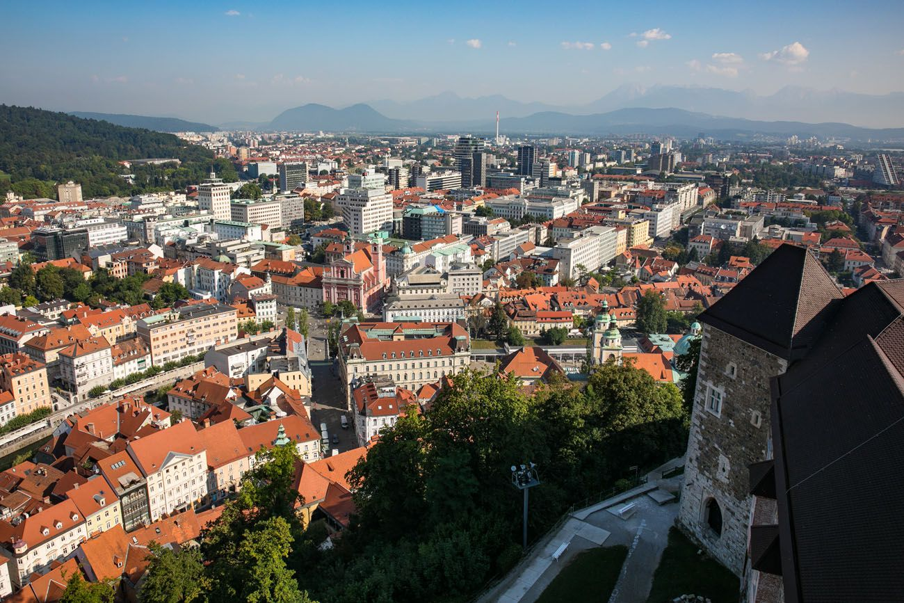 Ljubljana Castle View