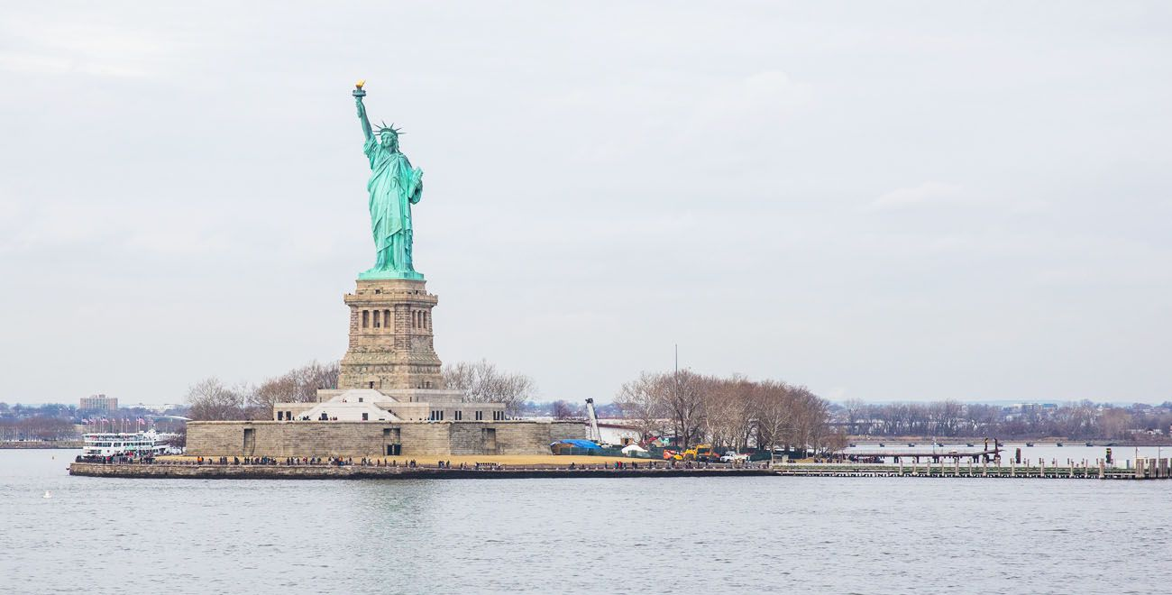 Statue of Liberty where to stay in New York