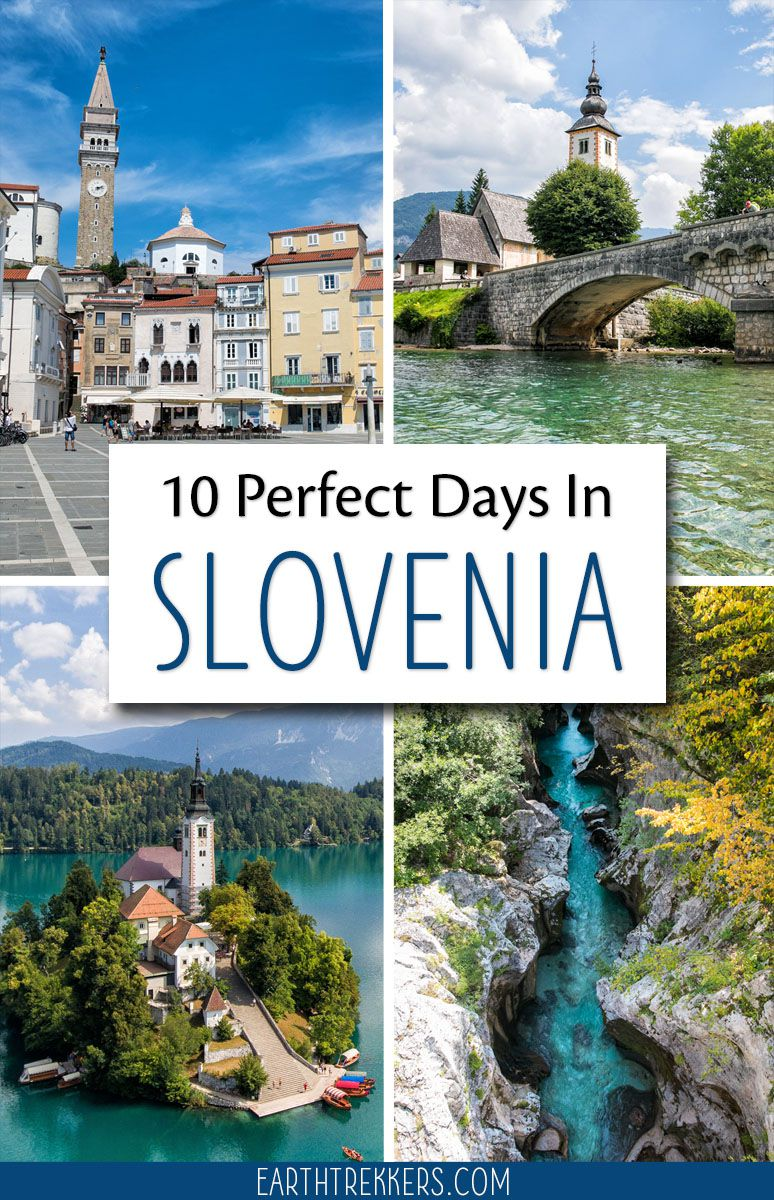 10 Days in Slovenia Itinerary