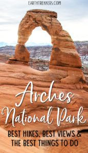 Arches NP Best Hikes Best Views
