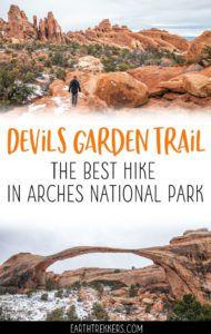 Arches NP Devils Garden Trail