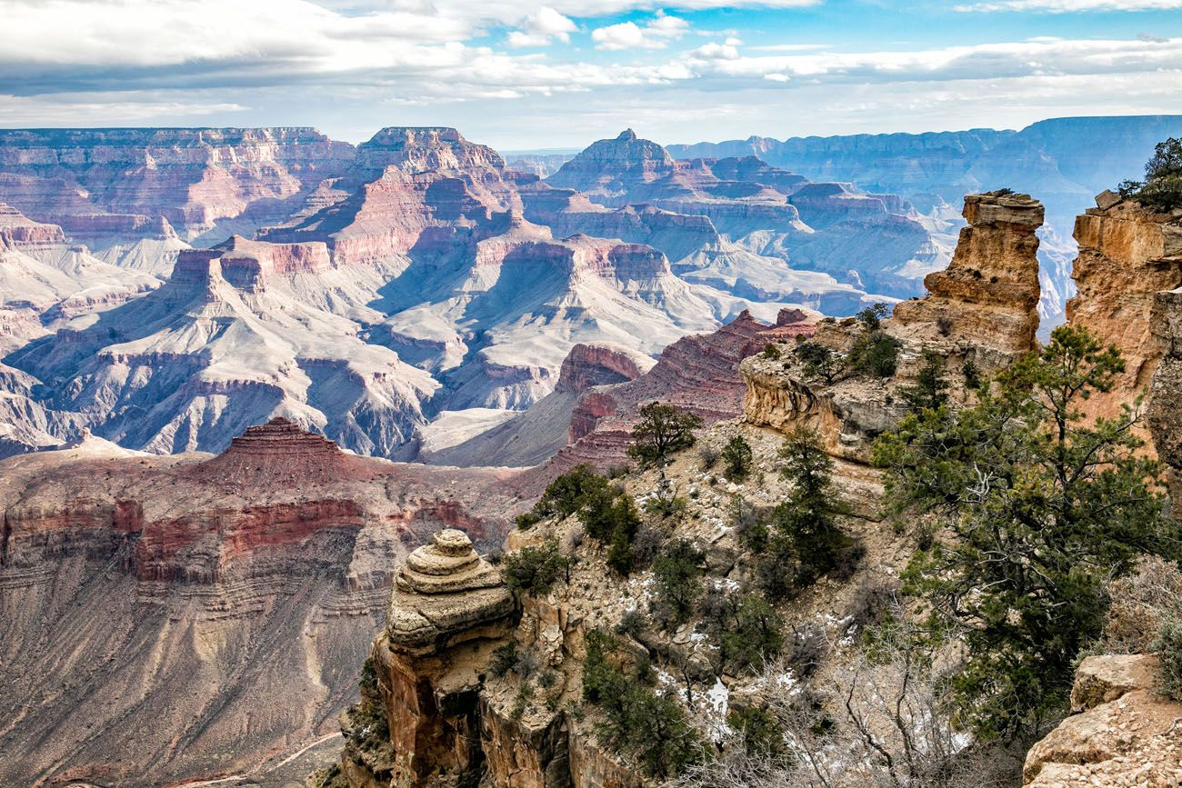 Best South Rim Viewpoints