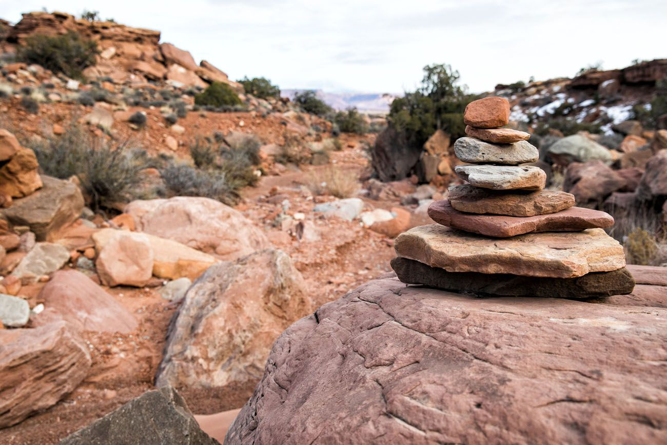 Cairn in Canyonlands