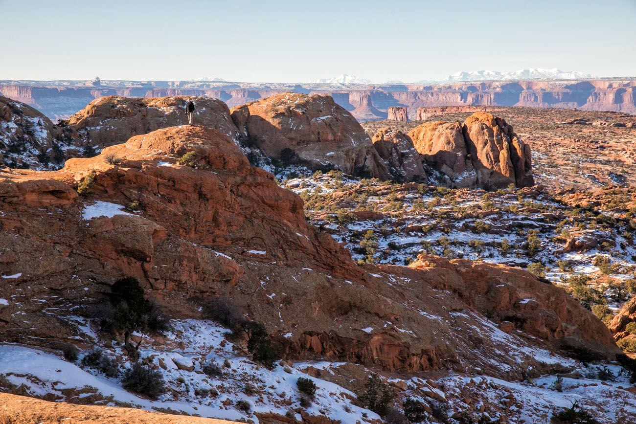 Canyonlands in December