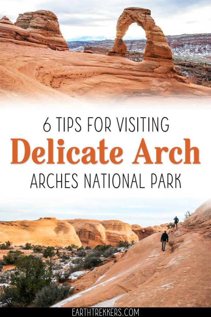 Delicate Arch Hiking Tips