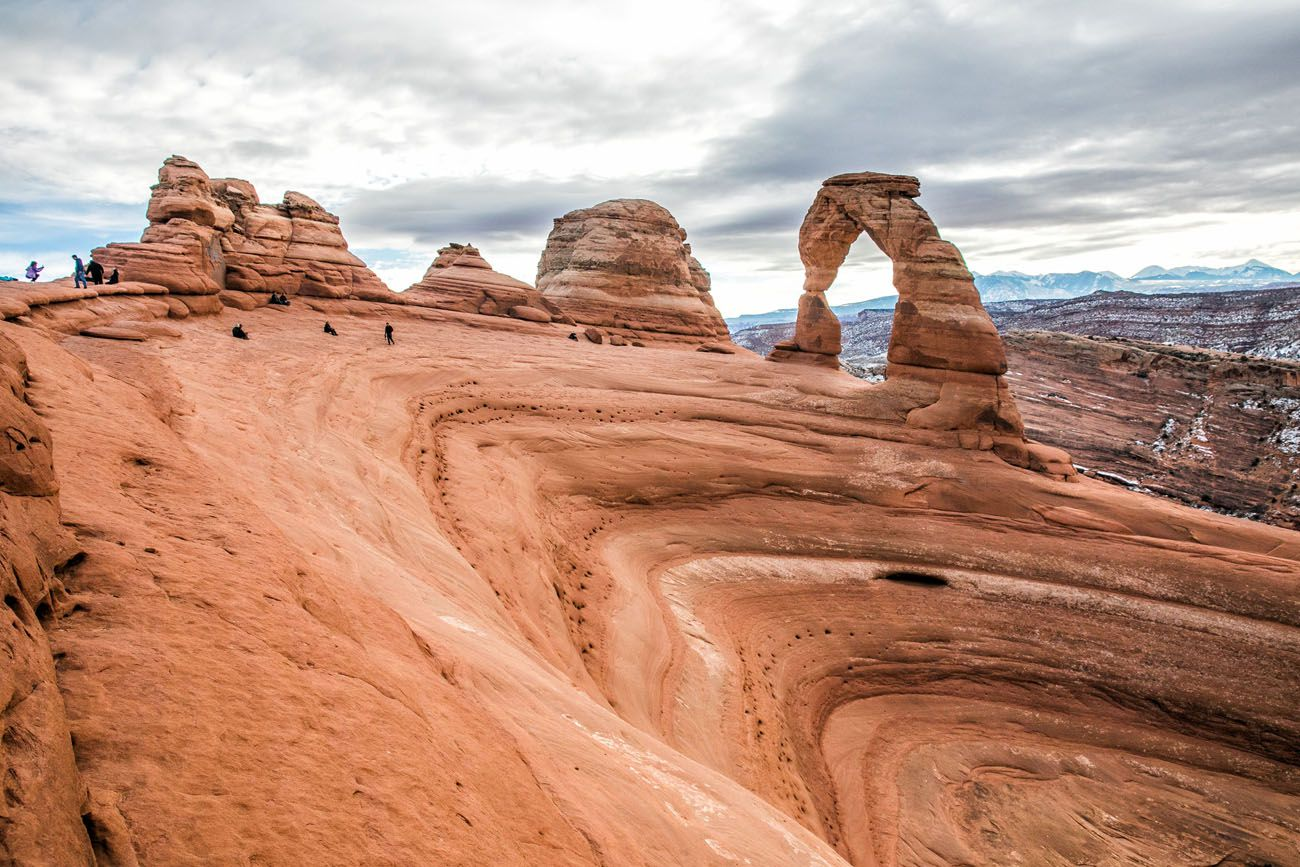 Delicate Arch in December