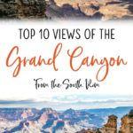 Grand Canyon Best South Rim Views