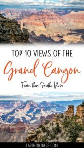 16 Amazing South Rim Viewpoints In The Grand Canyon Earth