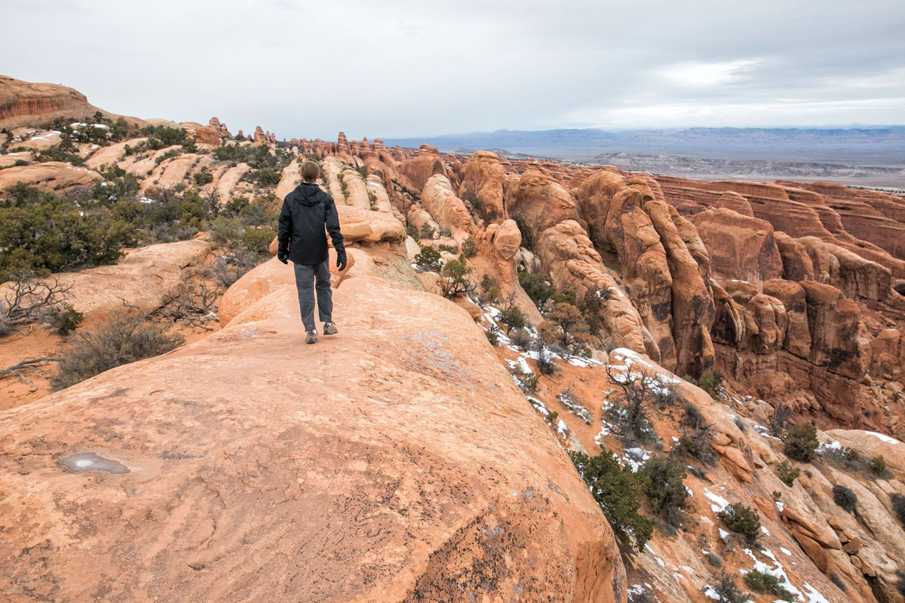 Hike Arches National Park