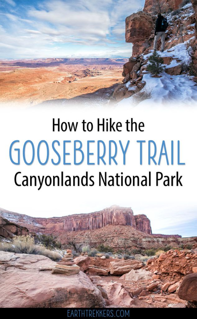 Hike Gooseberry Trail in Canyonlands