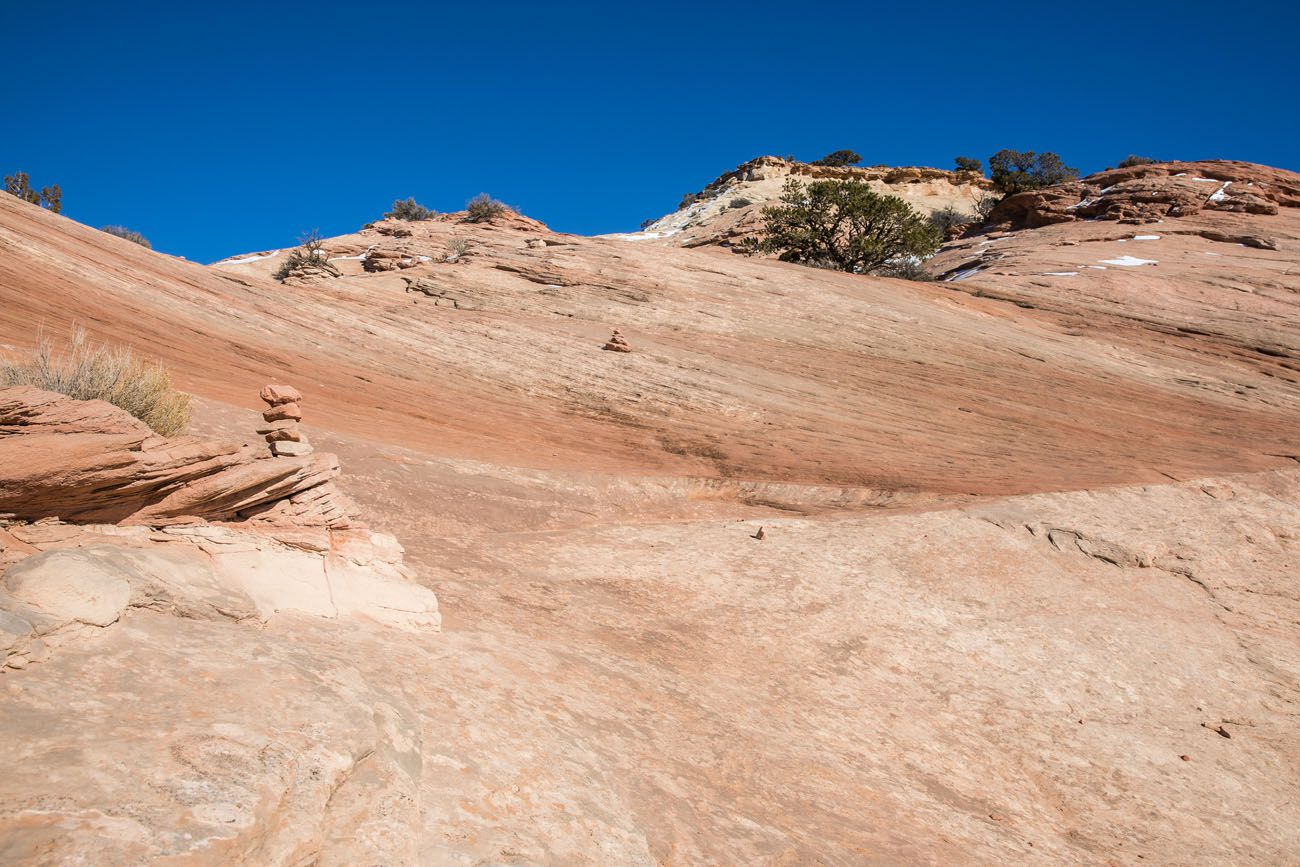 Hiking Aztec Butte things to do in island in the sky