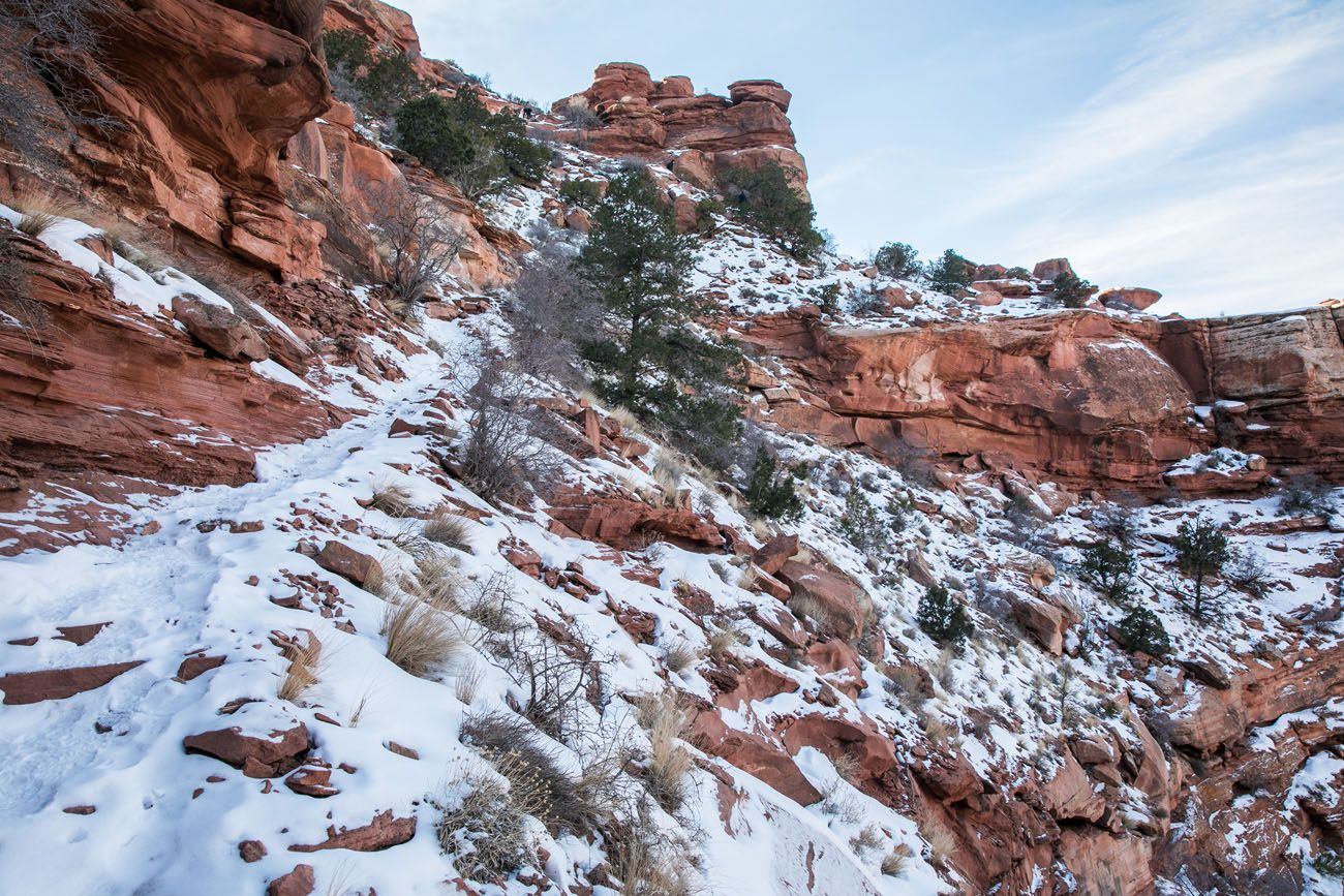 Hiking Canyonlands in December things to do in island in the sky